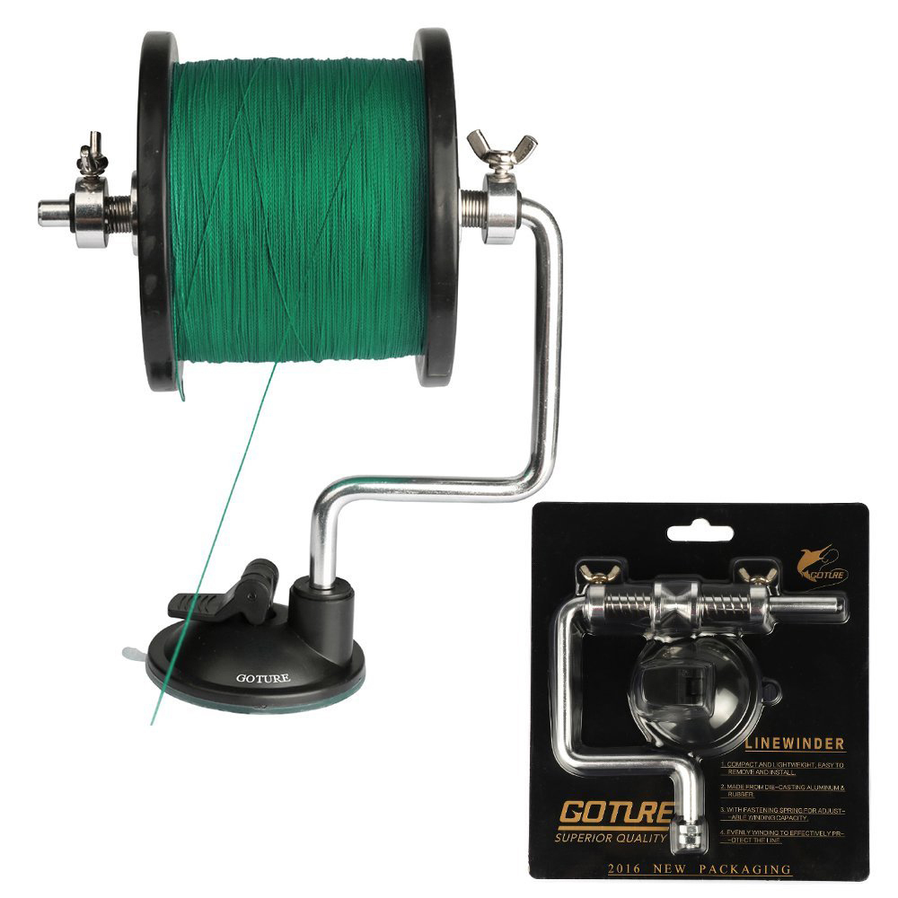 Goture fishing line winder detachable and portable reel for Fishing line winder