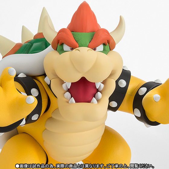 """Super Mario""   Action Figure – Bowser"