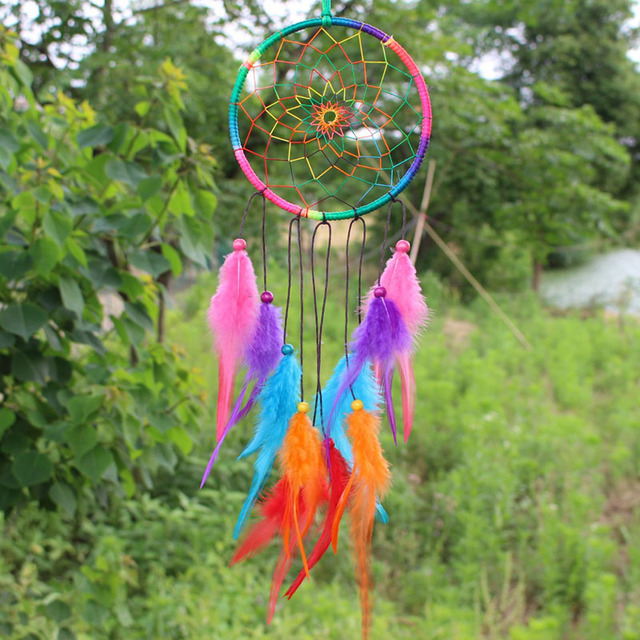 Handmade Colorful Dream Catcher