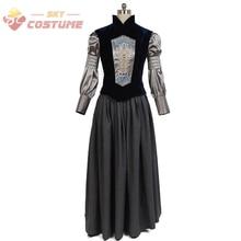 Star Wars Padme Naberrie Amidala Shirt Vest Dress Full Set Movie Halloween Cosplay Costumes For Adult