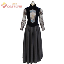Star Wars Padme Naberrie Amidala Shirt Vest Dress Full Set Movie Halloween Cosplay Costumes For Adult Women Custom Made