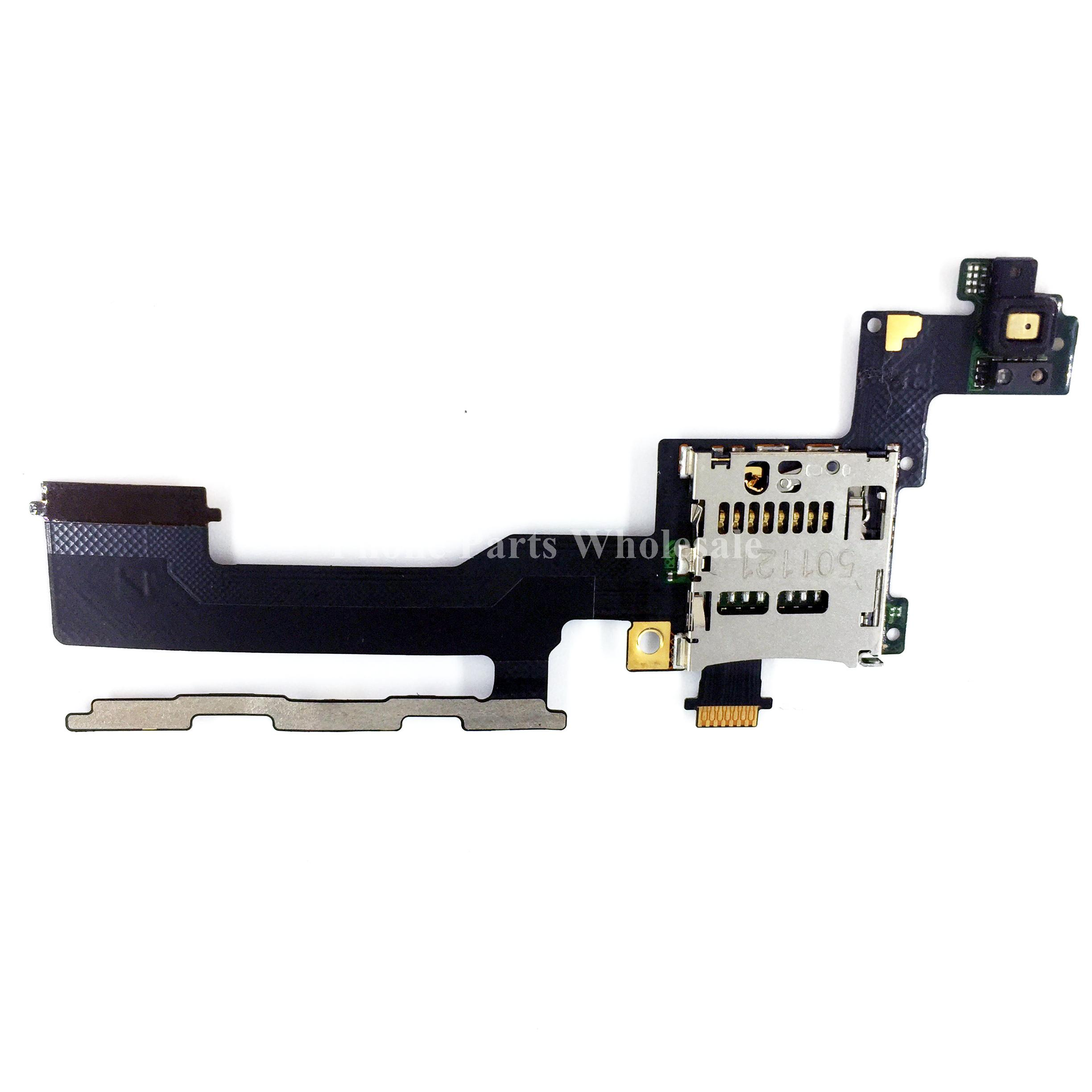 For HTC One M9 Brand New Micro SD Memory Card Slot Socket Holder With Power On