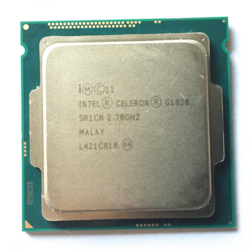 Intel Celeron dual G1820 LGA1150 2M Cache Dual-Core CPU Processor TPD 53W Desktop Processor have a g3220 3260 sale intel p6200 slbua 2 13 2m pga bloomfield dual core cpu black mirror silver