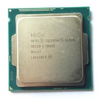 Intel Celeron dual G1820 LGA1150 2M Cache Dual Core CPU Processor TPD 53W Desktop Processor have a g3220 3260 sale