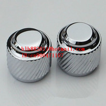free shipping new electric guitar and bass 1 tone and 1 volume metal  electronic Control Knobs cap   DM-8136