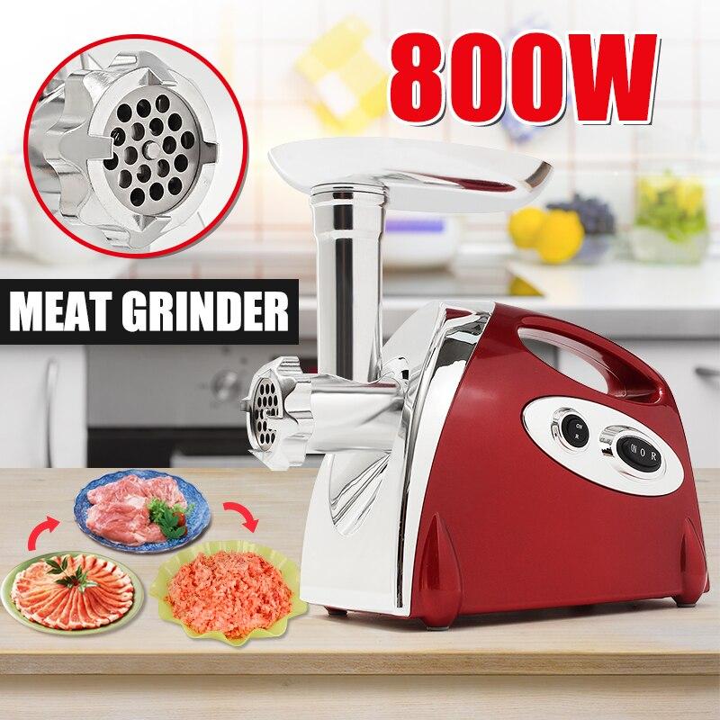 800W 220-240V Electric Meat Grinder Stirring Mixing Machine 2 Colors EU Plug Kitchen Appliances Blenders