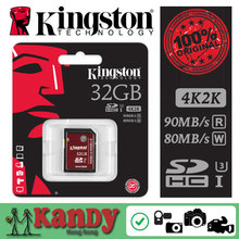 Kingston sd card sdhc sdxc uhs-i U3 video DSLR memory card 32gb 64gb 128gb 256gb class 3 10 cartao de tarjeta scheda lot classe