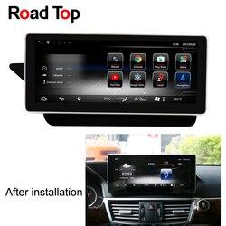 10,25 Android 7,1 Octa 8-Core Процессор 2 + 32 г автомобиля радио gps навигации Bluetooth, Wi-Fi головное устройство Экран для Mercedes Benz E W212 S212