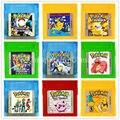 Nintendo GBC Jogo Cartão de Pokemons Series Primeira Compilação Cartucho de Videogame de Console para Game Boy Color Versão Em Inglês