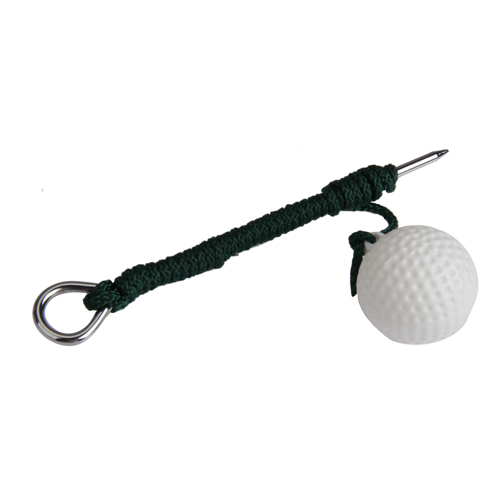High Quality Golf Practice Balls Outdoor Sports Golf Balls Plastic Training Balls with Steel Rope Golf Club Accessaries TL#8