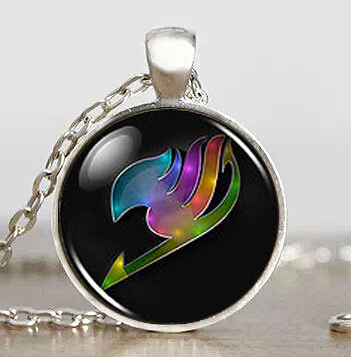 Fairy Tail Guild Marks Rainbow Wing 1pcs/lot Pendant Necklace Jewelry