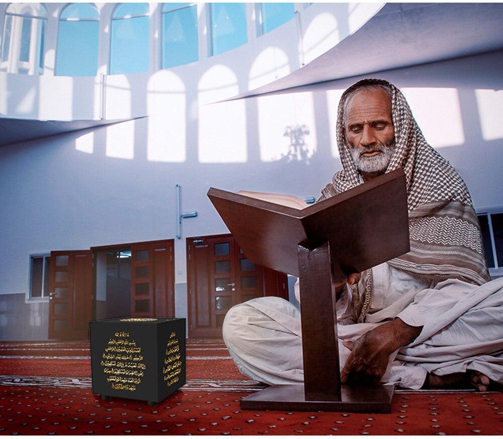 Quran Bluetooth Speaker Touch Colorful LED Light Wireless Table Lamp FM TF Audio Music Muslim Islamic Koran Speaker 25 Languages (1)