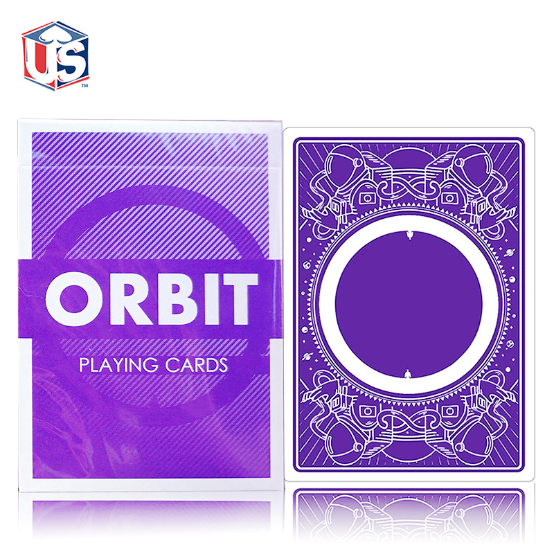Orbit V3 Purple Playing Cards Deck Brand New Sealed Magic Props