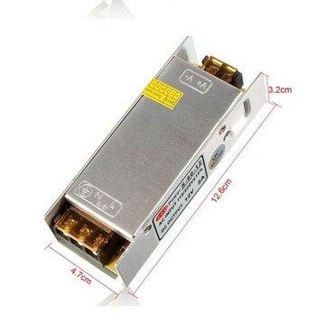 цена на High quality Safety DC 12V 5A 60W AC 110V - 220V LED Driver Adapter for LED strip 3528 5050 Switching Power Supply