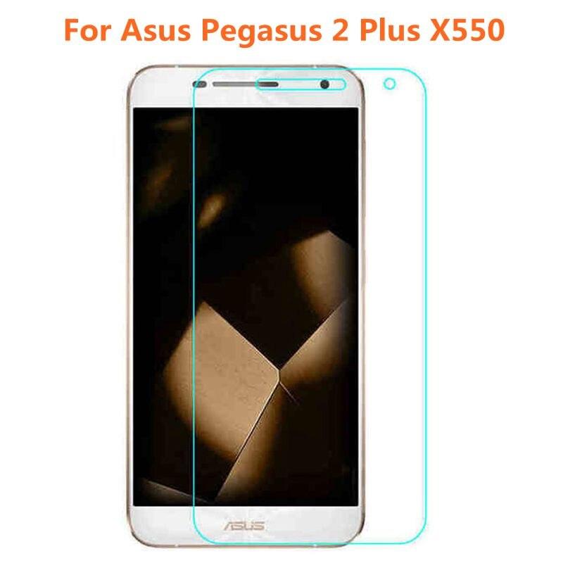 Цена за 10 шт./лот Закаленное Стекло Оригинальный 9 H взрывозащищенный Защитная Пленка Экран Протектор для Asus Pegasus 2 Plus X550