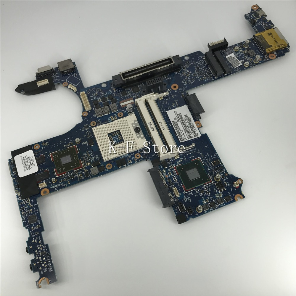 KaiFull 642754-001 Free shipping board for HP 8460p laptop motherboard with intel QM67 chipset 1GB discrete graphics