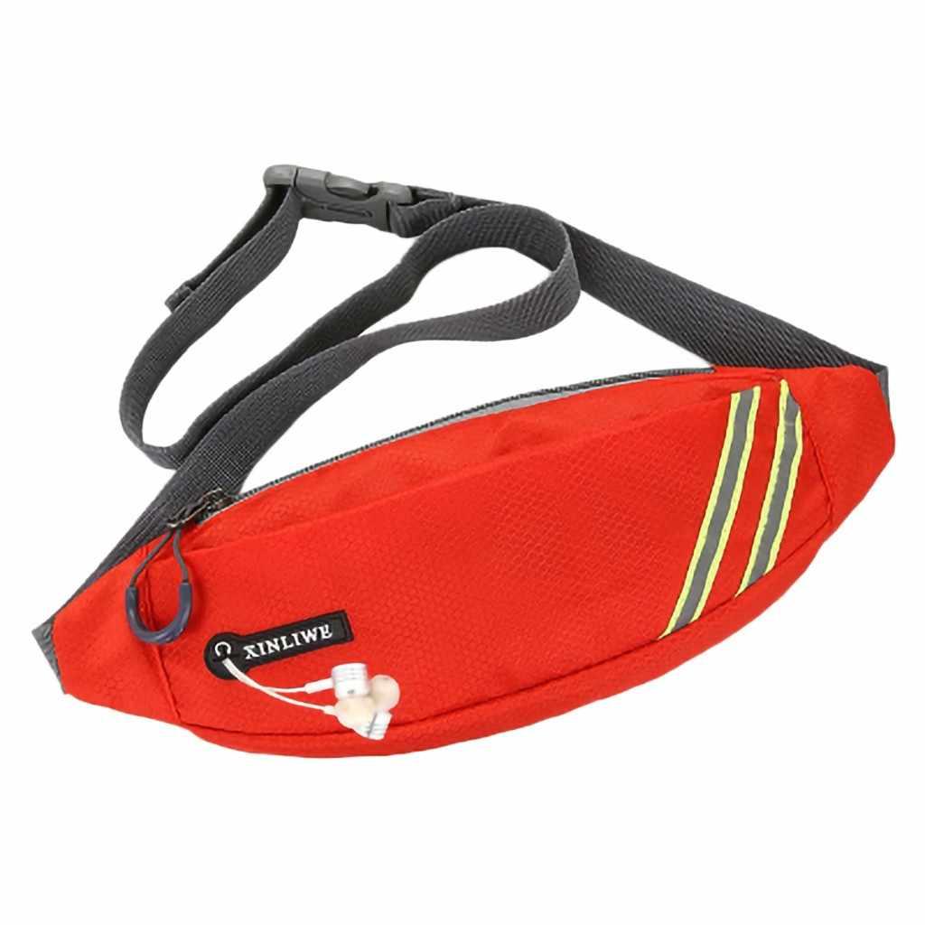 屋外マネーファニーパックウエストバッグ女性のためのメンズ機能防水メッセンジャーバッグスポーツヒップバッグファッションカジュアルパック