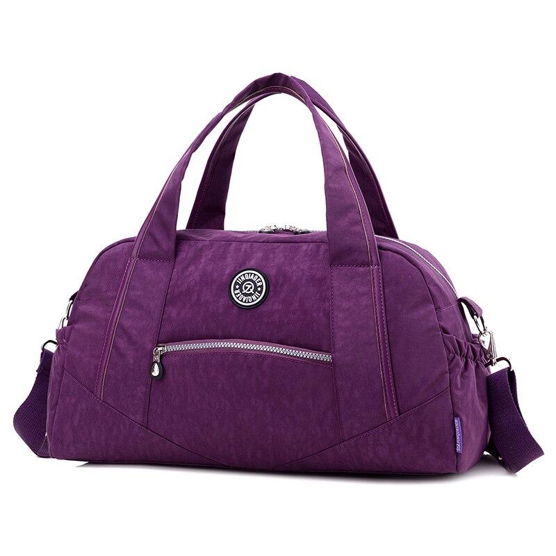 Vintage Casual Nylon Travel Bags New Fashion Women Totes Luggage Purse Waterproof Handbags Shoulder Bags Large Capacity
