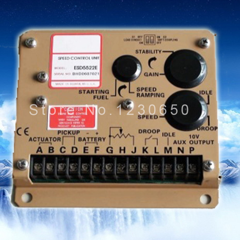 ESD5522E diesel generator electronic speed controller ESD 5522E