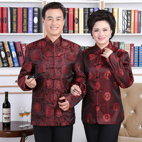 Wholesale middle aged and old outfit MJ0007 7 couples got a life of wedding costumes