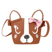 Children Cute Designer Handbag Cartoon Dog Shape Shoulder font b Crossbody b font font b Bag
