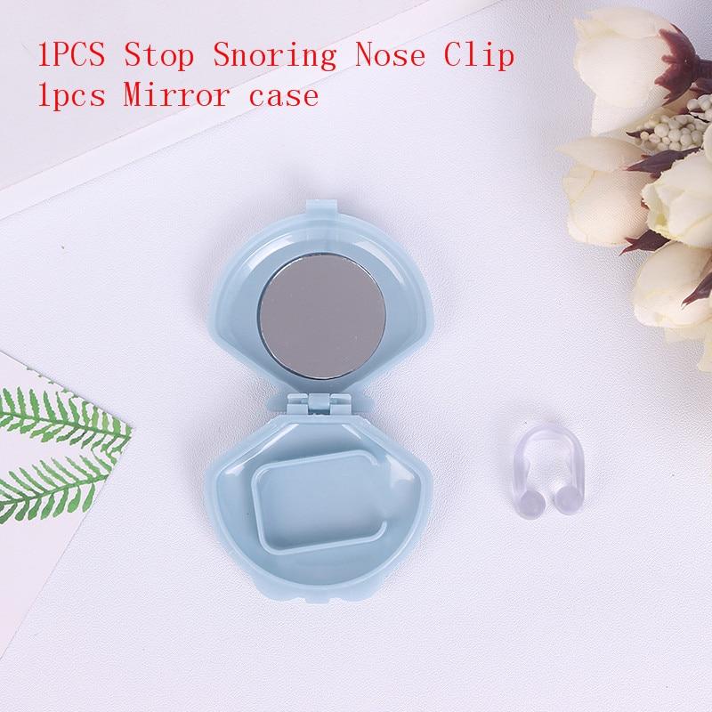 Stop Snoring Nose Clip Silicone Anti Snore Nasal Dilators Apnea Aid Device Nose Breathing Apparatus Stop Snoring Devices