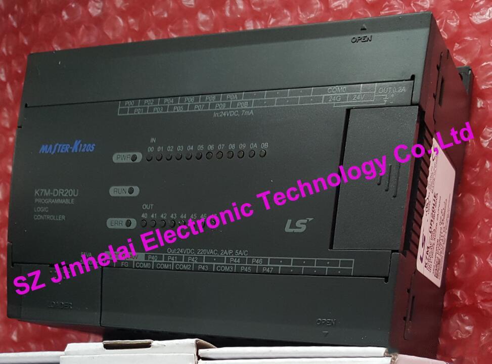 100% New and original K7M-DR20U/DC LS(LG) plc controller DC24V 100% new and original g6i d22a ls lg plc input module