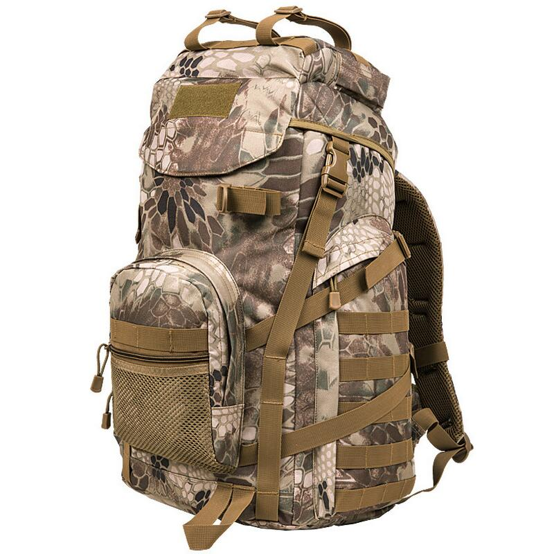 Military hunting Hiking backpack Outdoor camping 55L travel mountaineering bag sports backpack computer bag knapsack