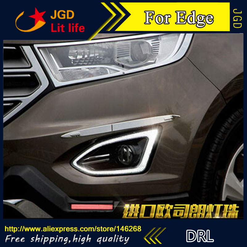V K Led Drl Daytime Running Light For Ford Edge   Fog Lamp Frame Fog Light