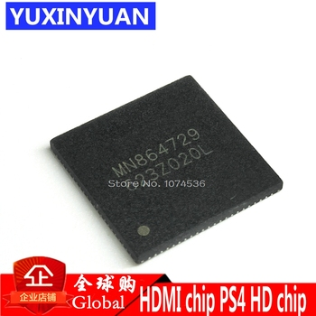 1 шт. MN864729 для PS4 slim pro cuh 1200 HDMI порт разъем интерфейса ic оригинальный новый QFN