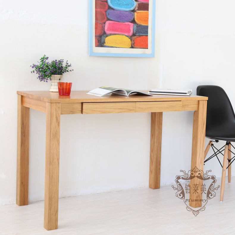 Platinum Levin Us Nordic Wood Den Study Table Ikea Small Apartment Minimalist Reading Computer Logs Student Desk In School Desks From Furniture On