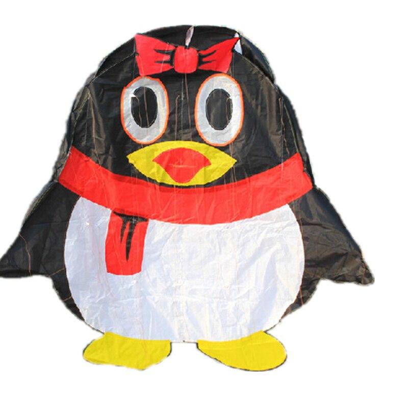 Sports d'amusement en plein air nouveau cerf-volant de haute qualité logiciel pingouin cerfs-volants avec chaîne bon vol