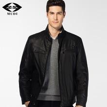 MUDI Brand Men 6XL Outfit Fashion Autumn Winter Upscale Windbreaker Bomber Jacket Parka Male Silk Cloak Ulster Softshell Coats