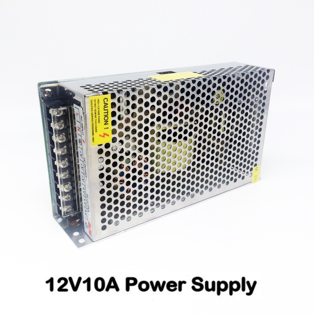 12V 10A 240W Switching Power Supply Driver Switching For LED Strip Light Display AC110V-220V Transformers Box CNP Shipping ac 85v 265v to 20 38v 600ma power supply driver adapter for led light lamp