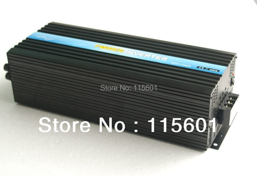 6000W home Inverter 12v 24v to 110v 120v 220v 230v CE&ROHS&SGS&IP30