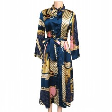 African-Dresses Clothing Dashiki Ankara Plus-Size Women Ladies Print