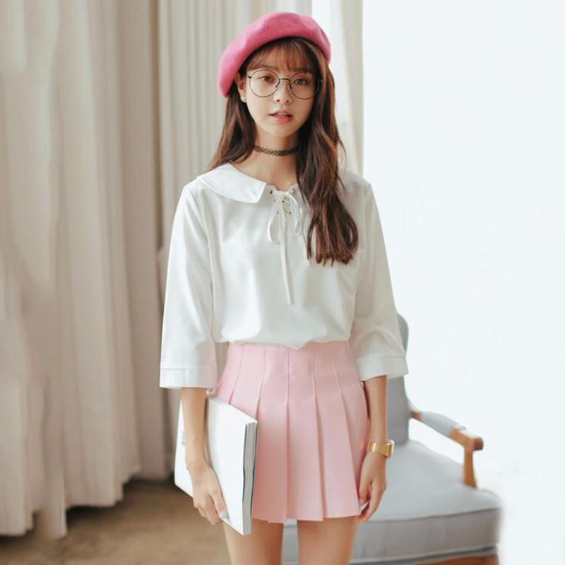 pleated skirt 08