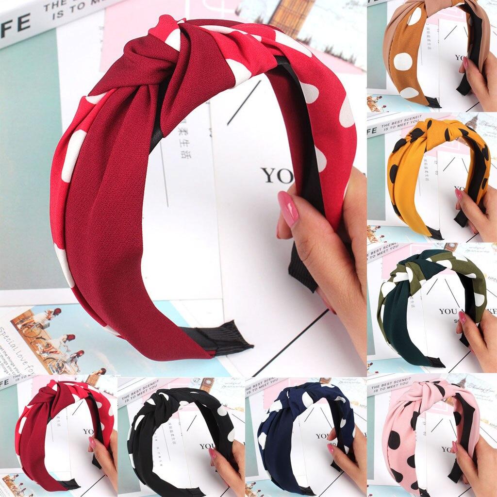 Fashion Bow Knot Hair Band Women Sweet Hoop Lady Girls Hair Headband Accessories