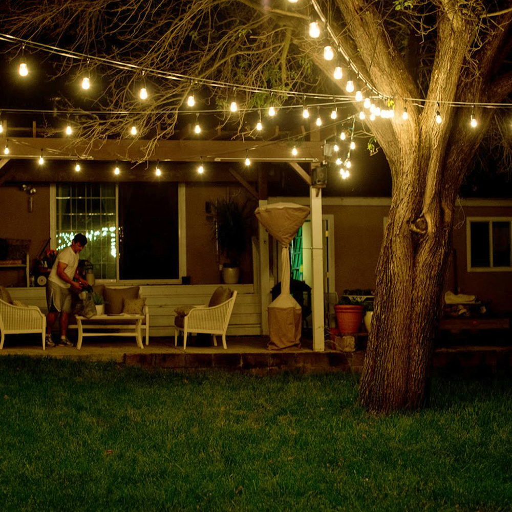 Sxzm 10m 10led waterproof commercial outdoor grade string lights e27 sxzm 10m 10led waterproof commercial outdoor grade string lights e27 filament bulb street garden patio backyard holiday lighting in holiday lighting from workwithnaturefo