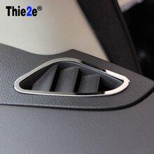 2 шт. кольцо из нержавеющей стали на выходе украшения автомобиля наклейки для Ford Focus 2 MK2 седан хэтчбек