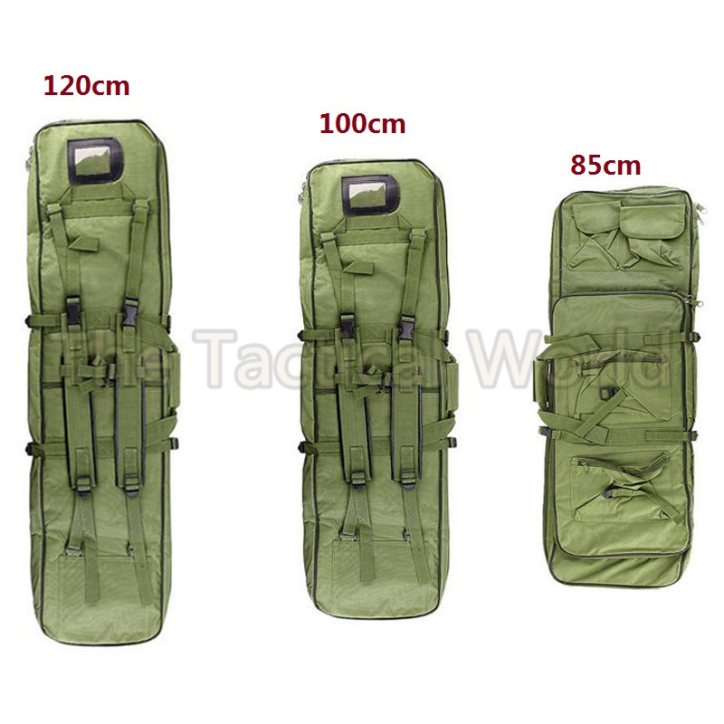 Outdoor Military Hunting 85 100 120cm Backpack Tactical Airsoft Nylon Square Carry Dual Carbine Rifle Bag Gun 120cm Soft Case