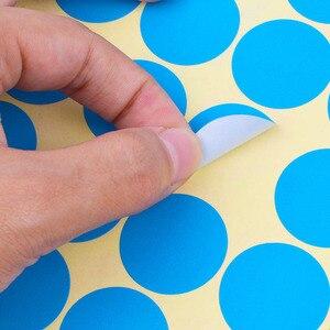 Круглые наклейки s в 10 различных цветов цветные наклейки точки кодирования круглые точки этикетки диаметр 6 мм 8 мм 10 мм 13 мм 19 мм 25 мм