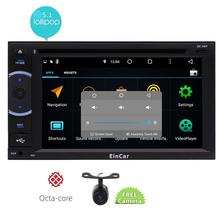 2 Din 6 2 Android 5 1 Octa Core Lollipop system DVD Player AM FM Radio