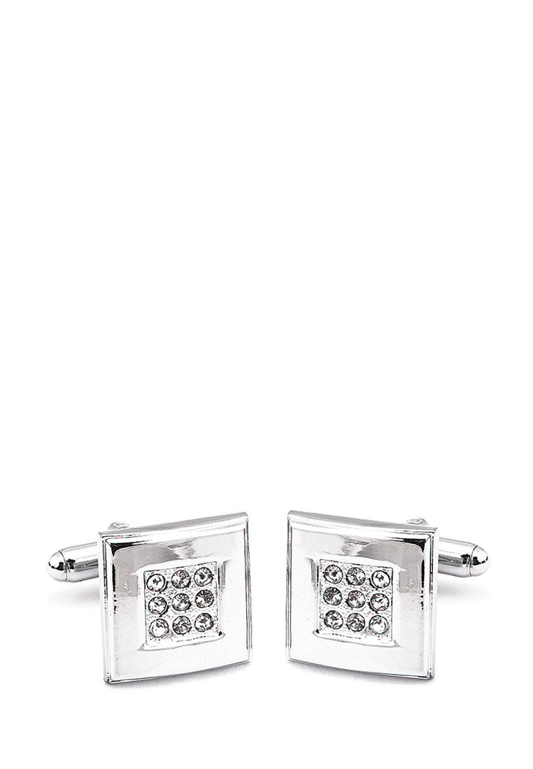 [Available from 10.11] Cufflinks gift box GREG 603074 Silver переход шт f шт f proconnect индивидуальная упаковка 5 шт