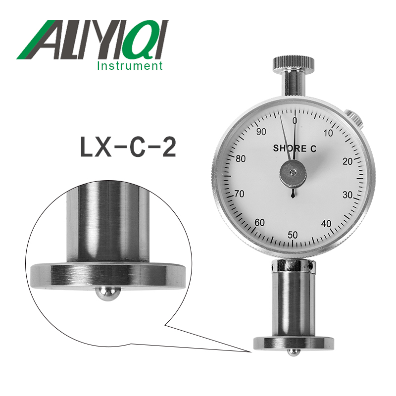 LX-C-2 shore hardness tester Durometer applicable to the hardness test of rubber microporous material цена