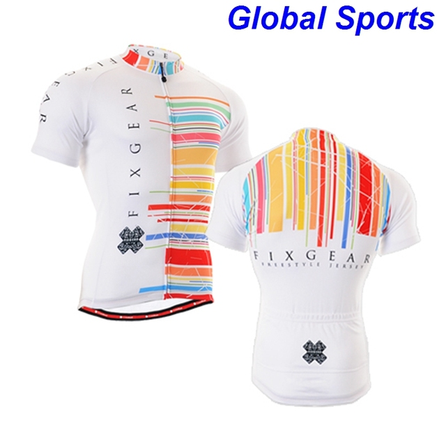 2017 brand colorful stripe cycling United States America clothing bike wear  riding racing ropa ciclismo S 3d4000878