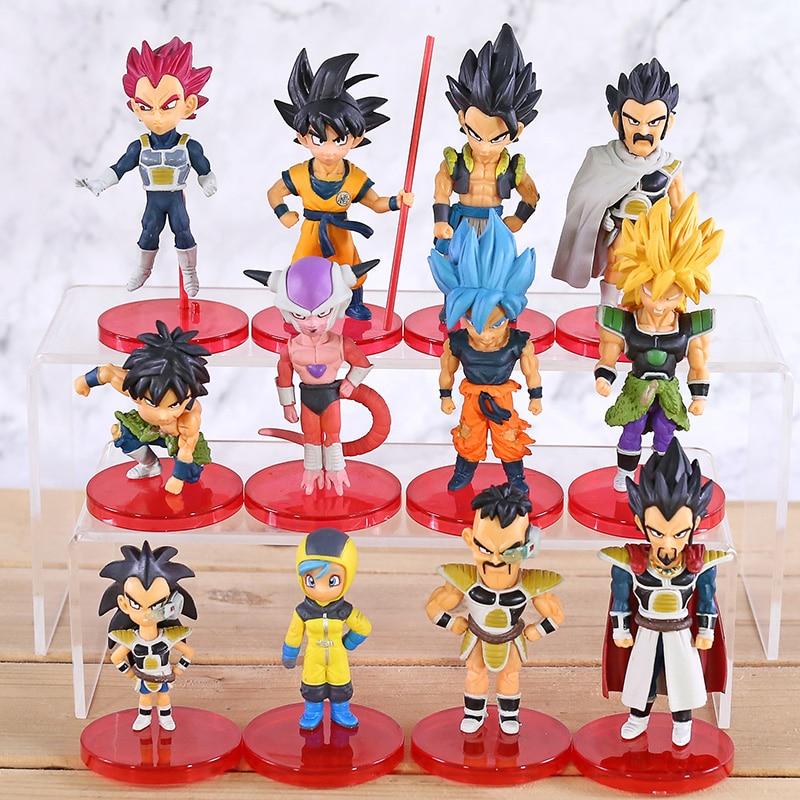 Banpresto Dragon Ball Super World Collectible Figure BURST 7 set Son Goku Vegeta
