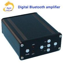 HIFI Amplifier Audio Stereo Digital Amplifier TPA3116 Power 2*50W Mini Home Aluminum Enclosure Amp Optional + 24V Power Adapter