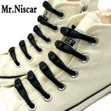 Mr.Niscar 1 Set/12 Pcs Luminous Lazy Shoe Laces Flexible Elastic No Tie Shoelace Silicone Fluorescence Flash Sport Shoelaces