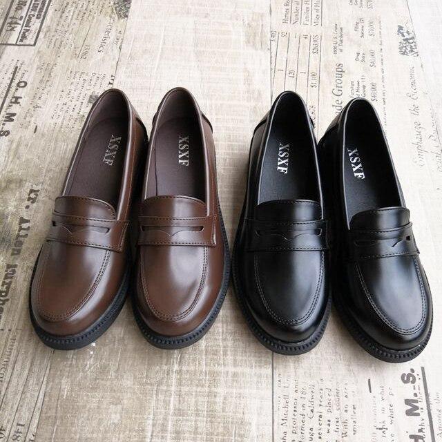 zapatos escolares japoneses para cosplay